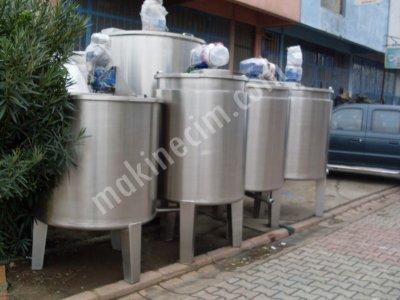 Satılık Sıfır Paslanmaz Karıstırıcı Mikser Kazanları Deterjan- Sabun Şampuan Tutkal karıstırma makineleri Fiyatları İstanbul paslanmaz karıstırıcı,paslanmaz reaktör,paslanmaz mikser,paslanmaz kurutucu,Kimyasal makineler, krom reaktör,