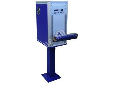 Bakır Tel Ve Aluminyum Tel İçin İndüksiyonla Kalın Aluminyum Folyo Ön Isıtma Makinası