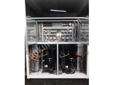 Satılık 2. El 537 Kw= 460.000 Kcal/h 2015 Model Çok Az Kullanılmış Ferroli Chiller Soğutma Grubu