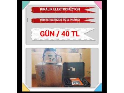 Kiralık 2. El Kiralık Elektrofüzyon Kaynak Makinası Fiyatları İstanbul kiralık elektrofüzyon, satılık elektrofüzyon, rothenberger, gf