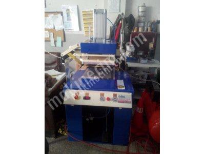 Sıcak Klişe Yaldız Baskı Makinası