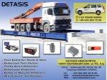 Taşıt Kantarları İmalat & Satış - Teknik Servis & Kalibrasyon Hizmetleri