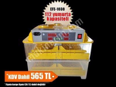 Kuluçka Makinası 112 Li - Efe Kuluçka Kalitesiyle