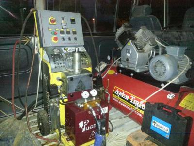 Satılık 2. El Sprey Poliüretan Köpük Makinası Fiyatları Konya Sprey köpük makinası
