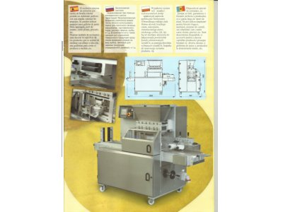 Satılık Sıfır İçi Dolgulu Bisküvi Makinası Fiyatları Karaman tutku, biskrem, içi dolgulu, bisküvi