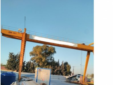 Satılık 2. El Sahıbınden 10 Tonluk Abra Marka Sıfır Ayarında Portal Vinç Fiyatları İzmir portal vinç