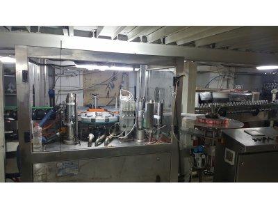 Satılık İkinci El Opp Sıcak Tutkal Etiket Makinası Fiyatları İstanbul etiket makinesi opp meşrubat pet dolum cam şişe