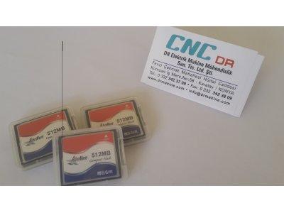 Memory Cardlar Cnc Ler İçin Her Kapasitede