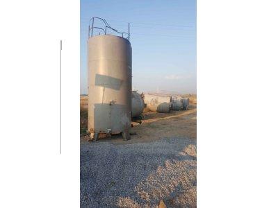 Satılık İkinci El 20 Tonluk Serpantinli Stok Tankları Fiyatları  KAZAN,STOK,TANK,SERPANTİN,PARAFİN