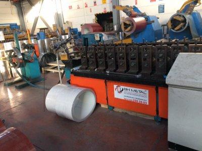 Satılık Sıfır Bh Metal Marka Destek Sacı Çekme Makinası (u,g,c,kırık G) Özel Profil Çekme Makinaları Fiyatları Niğde destek sacı makinası,rollform makinaları ,alçıpan makinaları,kepenk makinaları,trapez çatı sacı çekme makinaları