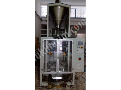 Satılık 2. El Vidalı Sistem Otomatik Paketleme Makinasi Fiyatları İstanbul Baharat paketleme  kahve paketleme  un paketleme
