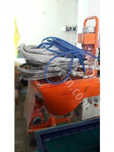 Satılık İkinci El Starmix Fiyatları Trabzon Alçı sıva makinası
