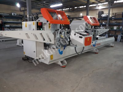 Satılık Sıfır 8 metre çift kafa kesim Fiyatları Bursa çift kafa kesim,pvc makina,pvc makinaları,bursa pvc makinaları,teknik makina