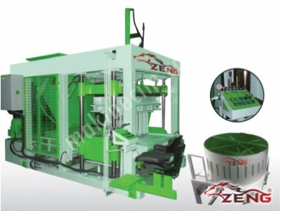 Satılık Sıfır Bims Briket Makinesi - Z-BMY 18 Fiyatları İstanbul bims briket makinası, bims makinası, bims, briket, briket makinası