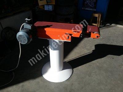 Palet Bant Şerit Zımpara Makinası Sıfır