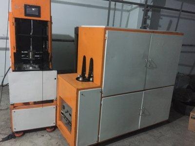 Satılık 2. El Yarı Otomatik Pet Şişirme Makinası Fiyatları Konya Pet şişirme