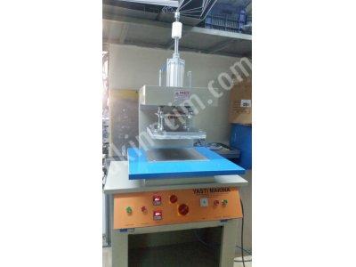 35cm x 35  cm  çift ısıtmalı  silikon baskı -gofre baskı-kabartma baskı  presi