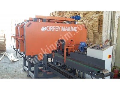 Üçlü Yatay Lata Dilimleme Makinesi