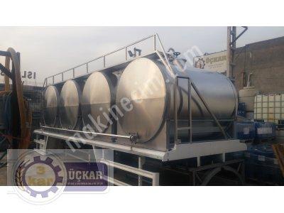 Satılık 2. El SÜT KASASI (TANKERİ) 2. EL Fiyatları Konya süt kasası, süt tankeri, taşıma tankı, izoleli tank, izoleli süt tankı