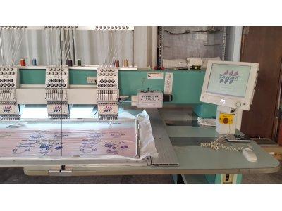 Satılık 2. El Tajima Tfgn 15 Kafa Bakımlı Nakış Makinesi Fiyatları  TAJİMA BARUDAN ZSK SWF FEİYA PUL NAKIŞ KOORDENE İPLİK MAKİNE LASE KOMBİNE