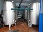 2. El Paslanmaz Mazot Su Süt Zeytinyagı Tankları Krom Depolar 304 Kalite Krom Çelik Glikoz Tankları