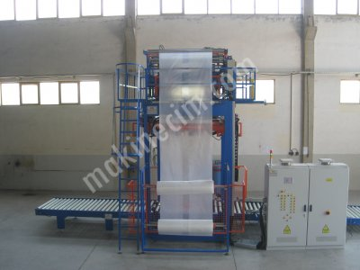 semi automatic pallet shrink machine with plc system