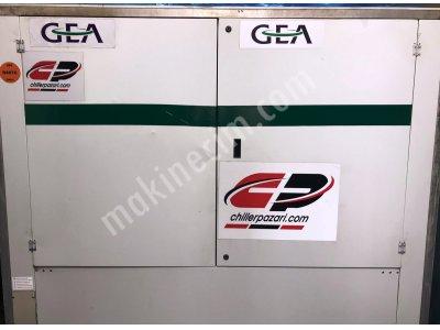 Satılık 2. El 450 Kw= 380.000 Kcal/h 2011 Model Çok Az Kullanılmış Alman Gea Chiller Soğutma Grubu