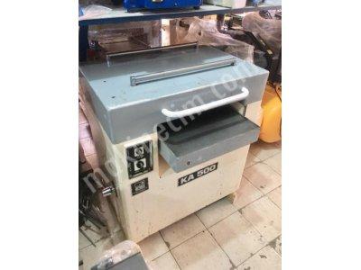 Netmak K-500 Kalınlık Makinası Bakımlı Tertemiz