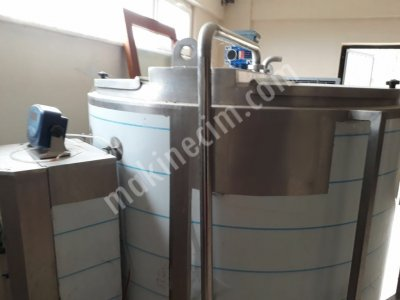 2000 Litre Özel Üretim Süt Soğutma Tankı 220 V