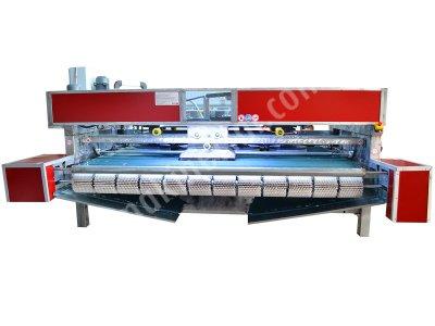 Full Otomatik Halı Yıkama Makinası 8 Fırçalı Paslanmaz