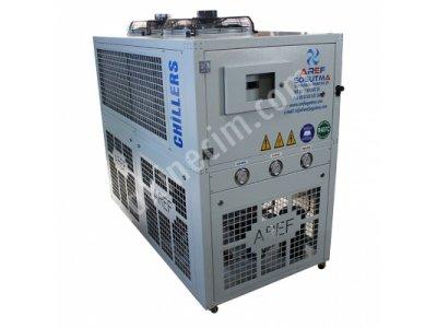 Satılık Sıfır 32,000 Kcal/h paket tip chiller Fiyatları Mersin chiller makina soğutma enjeksiyon soğutma kalıp soğutma 2.el chiller