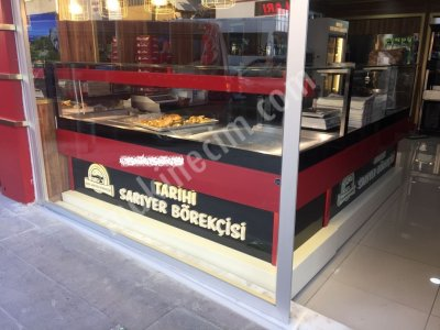 150X150 Böreklik Börek Isıtıcısı İmalattan Arslan Mutfak