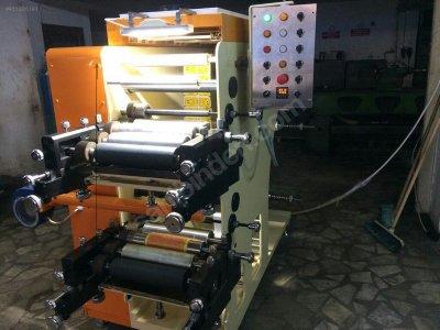 Satılık Sıfır 2 Renkli Flekso Baskı Makinesi Fiyatları  Baskı, Flekso, Flexo, Makine, Machinery, Printing, İmalat, Manufacturing, Produce