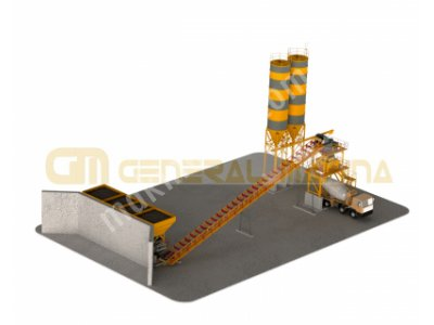 Gnr-Sbs60 Sabit Beton Santrali-General Makina