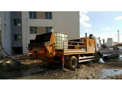Kiralık 2. El Sabit Beton Pompası Fiyatları Konya beton pompası sabit pompa şap betonu