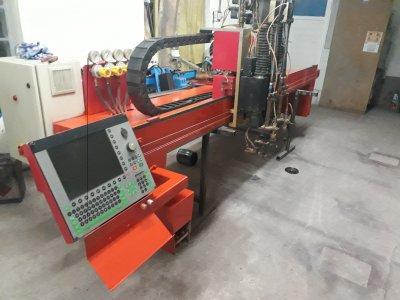 Satılık 2. El 2500x8000 Cnc Oksijen Kesim Makinasi Fiyatları Bursa Oxiplazma