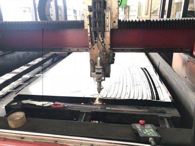 Satılık İkinci El Cnc Fiber Lazer Kesim 400 Watt Turccut Fiyatları Antalya Fiber Lazer Kesim, Metal İşleme, 400 watt