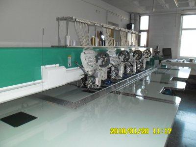 Satılık İkinci El Kombine Otomatik Yağlama Dört Kafa Nakış Makinesi Fiyatları  nakış,numune,kombine,makine,kordene,lase,özel,satılık,uygun,temiz