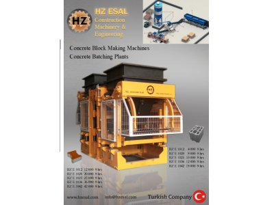 Satılık Sıfır Beton Parke & Briket Makinası Fiyatları İstanbul Briket, Beton Parke, Kilitli Parke Taşı
