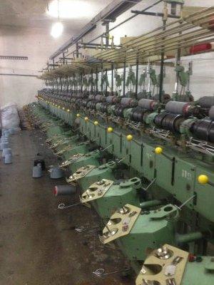 Satılık 2. El İplik Katlama Ve Büküm Tesisi Fiyatları Denizli iplik katlama ve büküm makinaları