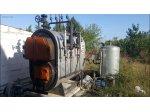 Termo Çelik Buhar Kazanı 750 Kg_H (25 M2) Katı Yakıtlı Çalışan Set
