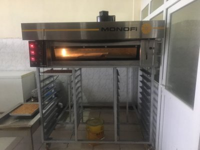 Satılık 2. El Baklava Pişirme Fırını Elektrikli Taş Tabanlı Fiyatları İstanbul ELEKTRİKLİ FIRIN TAŞ TABANLI BAKLAVA FIRIN