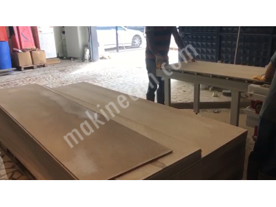 Fibercement Board Kesim İşleme Makinesi