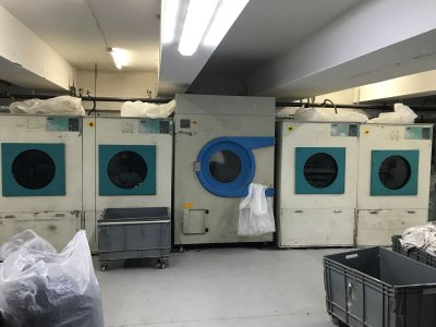 Permak Tekstil & Çamaşır Kurutma Makinesi 40 Kg 8 Adet Mevcut !!