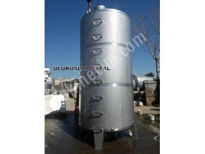 Paslanmaz 10 Ton 20 Tonluk Sirke Yag Alkol Şarap Tankı Süt Su Tankları