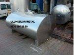 Süt Nakil Tankı Süt Taşıma Tankları İmalatı 500 - 1- 2 - 3 - 4-5 Tonluk Tasıma