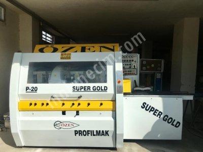 Satılık İkinci El ÖZEN SÜPERGOLD P-20 PROFİL MAKİNASI BAKIMLI TERTEMİZ Fiyatları Adana özen profil makinası,kasa çekme makinası,rabıta makinası,vaynig,weinig,
