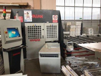 Satılık İkinci El İlk Sahibinden Pvc Kaban Fa 1080 Profil İşleme Cnc Hattı Fiyatları Bursa KABAN FA 1080 CNC HAT İLK SAHİBİNDEN
