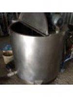 Paslanmaz Süt Pişirme Ve Karıştırma Homojenizetör