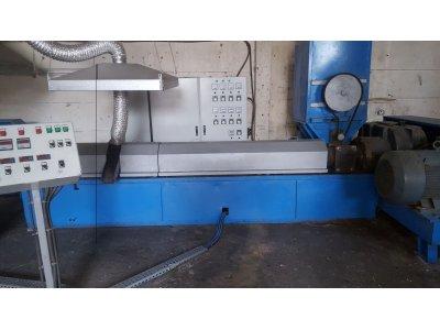 Satılık Sıfır Faal Durumda Granül Hattı Fiyatları  granül pp moblen plastik tesis kırma agromel forklift
